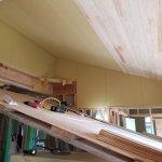 省令準耐火仕様の天井板張り