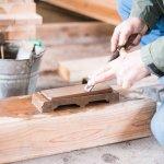 宮大工の伝統を受継ぐ大工さん。